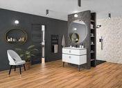 Pack à encastrer TRIVERDE noir - Peinture acrylique mur & plafond mat blanc 10 L GEDIMAT PERFORMANCE PRO ECOLABEL - Gedimat.fr