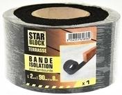 BANDE D'ISOLATION POUR LAMBOURDE - Support d'habillage latéral 100x75mm - Gedimat.fr