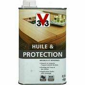 Huile et protection incolore  - bidon 0,5l - Produits de finition bois - Peinture & Droguerie - GEDIMAT