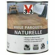 Huile parquets naturelle incolore  - pot 0,75l - Produits de finition bois - Peinture & Droguerie - GEDIMAT