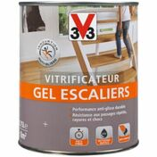 Vitrificateur gel escaliers mat incolore  - pot 2,5l - Gedimat.fr