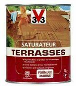 Saturateur terrasses teck  - pot 2,5l - Produits de finition bois - Aménagements extérieurs - GEDIMAT