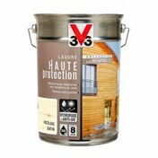 Lasure haute protection intemporelles satin wengé  - pot 5l - Gedimat.fr