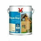 Lasure AQUA STOP satin incolore  - pot 1l - Gedimat.fr