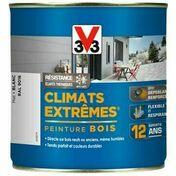 Peinture bois CLIMATS EXTREMES mat blanc  - pot 0,5l - Gedimat.fr