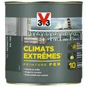 Peinture fer CLIMATS EXTREMES mat noir  - pot 1,5l - Peintures fer - Peinture & Droguerie - GEDIMAT