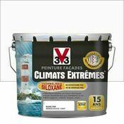 Peinture façade CLIMATS EXTREMES anti-encrassement blanc pur  - pot 10l - Peintures façades - Peinture & Droguerie - GEDIMAT