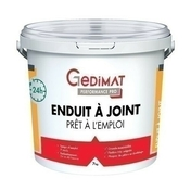 Enduit à joint 24h en pâte 7 kg GEDIMAT PERFORMANCE PRO - Enduits - Colles - Isolation & Cloison - GEDIMAT