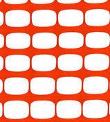 Barrière protection de chantier coloris Orange Long.50 m Haut.1 m - Signalisation - Outillage - GEDIMAT