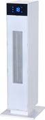Radiateur d'appoint céramique TETRA Long.23,3cm Haut.66cm Ép.23 cm coloris Blanc 2000W - GEDIMAT - Matériaux de construction - Bricolage - Décoration