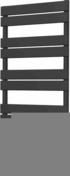Radiateur sèche-serviettes LIO Anthracite 600W Long.55cm Haut.109,5cm 18,10kg - Chauffage d'appoint - Chauffage & Traitement de l'air - GEDIMAT