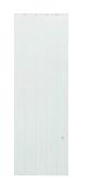 Radiateur à inertie réfractite MANON Blanc 1000W Vertical CHAUFELEC - Plinthe carrelage pour sol NYC larg.7,2cm long.90cm coloris nolita - Gedimat.fr