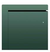 Radiateur à inertie fonte ZINA Gris 2000W Horizontal CHAUFELEC - GEDIMAT - Matériaux de construction - Bricolage - Décoration