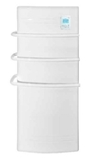 Radiateur sèche-serviette PAROS Blanc 1500W CHAUFELEC - Chauffage salle de bain - Salle de Bains & Sanitaire - GEDIMAT