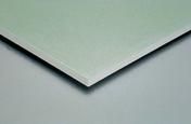 Plaque de plâtre hydrofuge PLACOPLATRE BA18S MARINE - 2,50x0,90m - Laine de verre TI 216 revêtue kraft - 13,5x0,6m Ep.45mm - R=1,20m².K/W. - Gedimat.fr