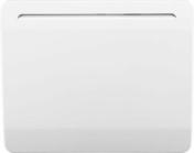 Radiateur céramique Blanc 1000W DISMO France - GEDIMAT - Matériaux de construction - Bricolage - Décoration