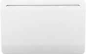 Radiateur céramique Blanc 1500W DISMO France - GEDIMAT - Matériaux de construction - Bricolage - Décoration