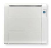 Radiateur céramique fonte inertie sèche 1000W Blanc - Escalier droit en kit BERGEN en Sapin haut.2,75m avec rampe - Gedimat.fr