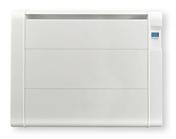 Radiateur céramique fonte inertie sèche 1500W Blanc - GEDIMAT - Matériaux de construction - Bricolage - Décoration