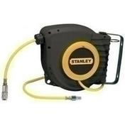 Enrouleur automatique 9 Mètres + 1 Mètre  tuyau 6 x 11 équipé raccords rapides - Compresseurs - Outillage - GEDIMAT
