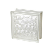 Brique de verre 198 ép.8cm dim.19x19cm ECAILLE - Briques de verre - Isolation & Cloison - GEDIMAT