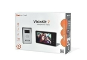 Interphone vidéo mains libres VISIOKIT 7+ - APPLIQUE CITY DETECTEUR  - Gedimat.fr