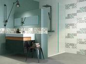 Carrelage pour mur intérieur THIS IS Coloris White mix Ép.9mm - Carrelages murs - Cuisine - GEDIMAT