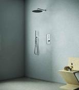 Pack à encastrer douche 2 sorties THERMO UP chromé - Bains-douches - Salle de Bains & Sanitaire - GEDIMAT
