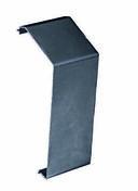 Couvre-joint aluminium  87x30x35mm pour bardage composite co-extrudé Atmosphère sachet de 8 pièces Gris Anthracite - Profilé d'angle aluminium 89 x 89 mm long.3,60m pour bardage co-ex Atmosphère Gris Anthracite - Gedimat.fr