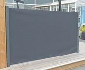 Brise vue extensible alumimium. Dim. L.3 x H.1,60 m Gris - Brises-vue - Canisses - Aménagements extérieurs - GEDIMAT