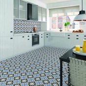 Carrelage pour sol intérieur CALSIA 20cm x 20cm - Carrelage pour sol intérieur en grès cérame coloré dans la masse STILE URBANO dim.45x45cm coloris gesso - Gedimat.fr