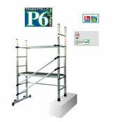 Echafaudage P6 en aluminium - Echelles - Echafaudages - Goulottes - Matériaux & Construction - GEDIMAT