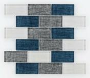 Carrelage pour mur intérieur TEX LINE - Mosaïques - Galets - Revêtement Sols & Murs - GEDIMAT