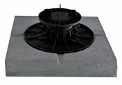 Dalle stabilisatrice béton pour plot vérin 280x280x50mm - Bande bitumeuse - 80mmx16m - Gedimat.fr