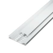 Grille de ventilation dissimulée ép.12 mm larg.92 mm long.4 m Blanc - Grilles de ventilation - Chauffage & Traitement de l'air - GEDIMAT