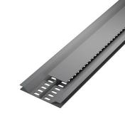 Grille de ventilation dissimulée ép.12 mm larg.92 mm long.4 m Gris clair - Grilles de ventilation - Chauffage & Traitement de l'air - GEDIMAT