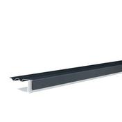 Profilé de bordure clipsable ép.15 mm larg.38 mm long.4 m blanc - GEDIMAT - Matériaux de construction - Bricolage - Décoration