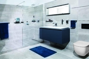 Tablette en verre et laiton 35 cm - Armoires de toilette et Accessoires - Salle de Bains & Sanitaire - GEDIMAT