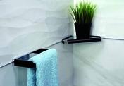 Tablette d'angle et raclette en laiton et abs - Armoires de toilette et Accessoires - Salle de Bains & Sanitaire - GEDIMAT