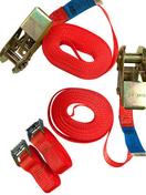 Lot de 4 sangles d'arrimage 25mm - Chaines - Cordes - Arrimages - Quincaillerie - GEDIMAT