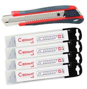 Kit cross cutter 25mm + 40 Lames de cutters 25mm - Clé à molette acier chrome-vanadium 300mm serrage maxi 34mm - Gedimat.fr