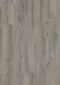 Sol stratifié rigide  à cliquer CLASSIC PLANK  lames ép.5mm larg.189mm long.1251mm Chêne Héritage gris - Lavabo mural à encastrer finition chromé Saillie 160-180 mm Entraxe 100mm finition chromé - Gedimat.fr