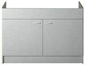 Meuble sous évier à poser SINOP 2 portes 120 x 60 cm - Meubles sous-évier - Cuisine - GEDIMAT