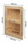 NICHE KERDI-BOARD-N NISCHE 30,5 x 50,8 x 8,9 cm KB12N305508A1 - Etanchéité sous carrelage - Revêtement Sols & Murs - GEDIMAT