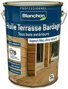 Huile Terrasse Bardage Ipé 5L - Traitements curatifs et préventifs bois - Couverture & Bardage - GEDIMAT
