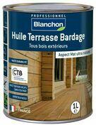 Huile terrasse bardage ipé  - pot 1l - Traitements curatifs et préventifs bois - Peinture & Droguerie - GEDIMAT