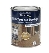 Huile Terrasse Bardage Chêne moyen 1L - Traitements curatifs et préventifs bois - Couverture & Bardage - GEDIMAT