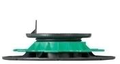 Plot réglable pour lambourde hauteur de 40 à 60 mm - Lame de terrasse Composite FOREXIA ELEGANCE rainurée ép.23mm larg.138mm long.4m. Coloris Gris Anthracite - Gedimat.fr