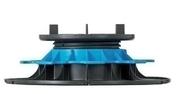 Plot réglable pour dalle hauteur de 50 à 80 mm - Dalle pour terrasse ou piscine en pierre reconstituée ARDOISIERE larg.40cm long.60cm coloris anthracite - Gedimat.fr