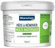 Pâte à rénover blanc - pot 5kg - Mastics - Peinture & Droguerie - GEDIMAT